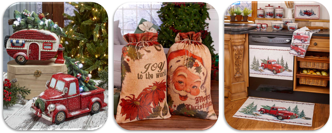 Holiday Showcase - 8 Vintage Christmas Decorating Ideas