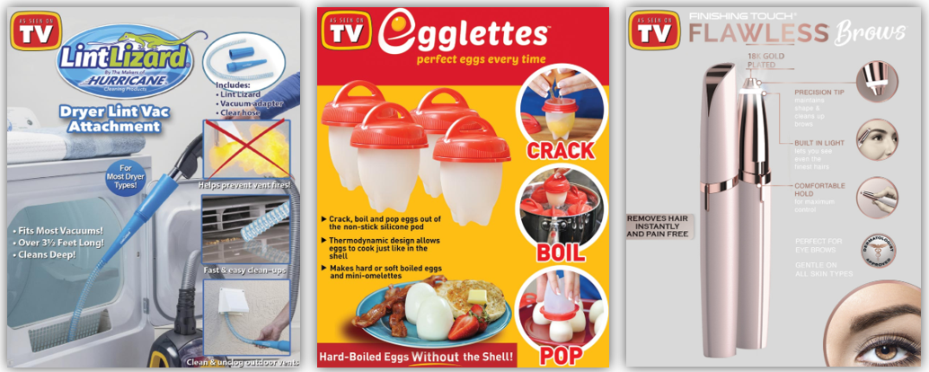 As Seen On TV - 10 Creative Products Designed to Make Life Easier