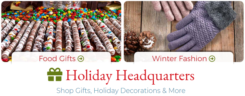 Shop Holiday Headquarters for Deals on Winter Fashion & More