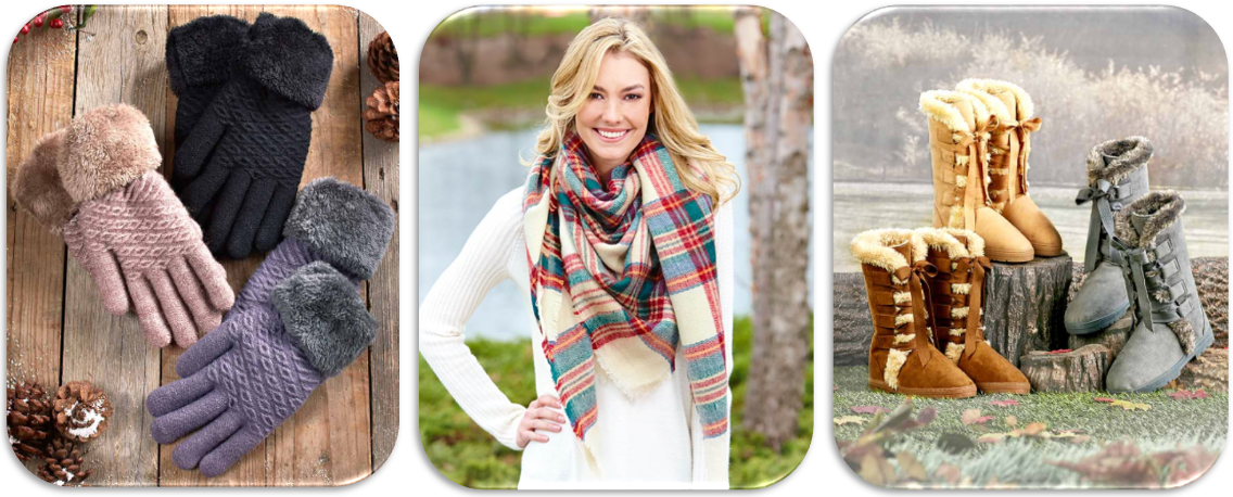 Winter Fashion - 8 Trendy Accessories to Keep You Warm All Winter