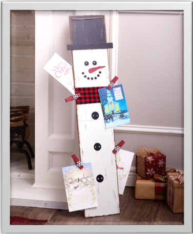 3-Foot Christmas Card Holder