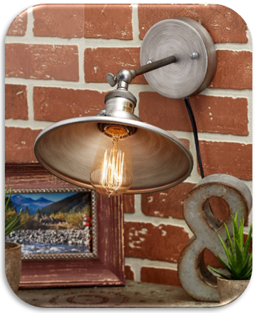 Rustic Metal Wall Lamps