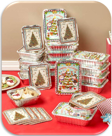 Set of 24 Holiday Goodie Containers