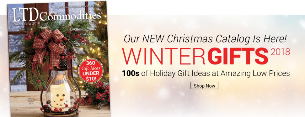Winter Gifts 2018 - New Christmas Catalog from LTD