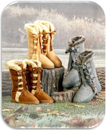 Women's Lace Up Winter Boots