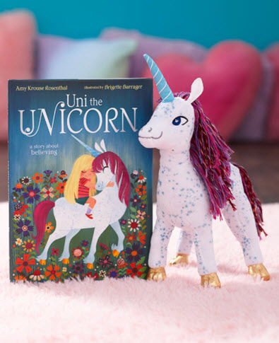 Uni the Unicorn Book or Plush