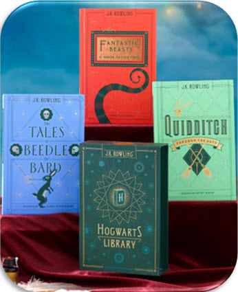Hogwarts Library 3-Book Box Set