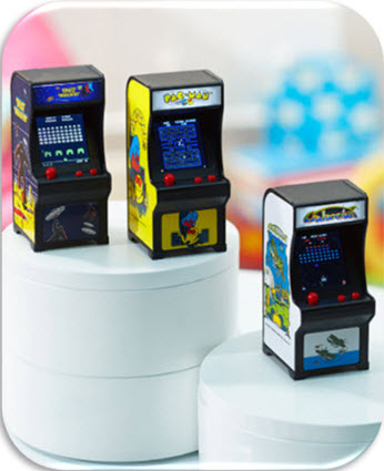 Licensed Mini Classic Arcade Games