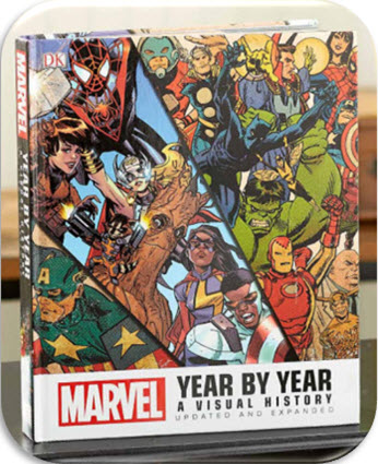 Marvel Year by Year Visual History Book