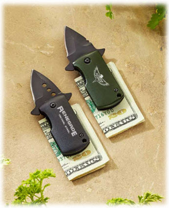 Renegade Money Clip Knives