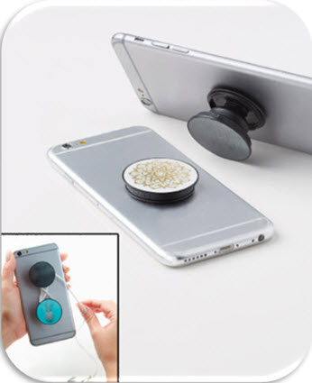 Sets of 2 Spin Pops Phone Holders