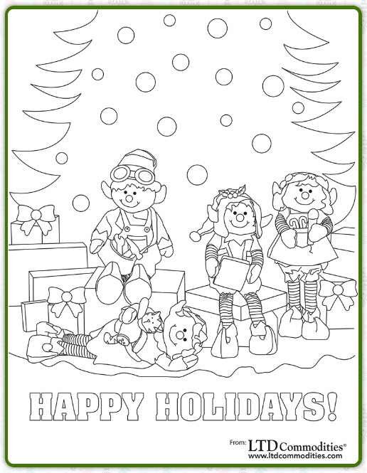 2018 LTD Holiday Coloring Contest