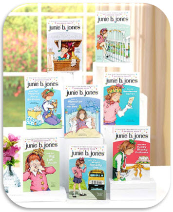 Junie B Jones 8 Book Set