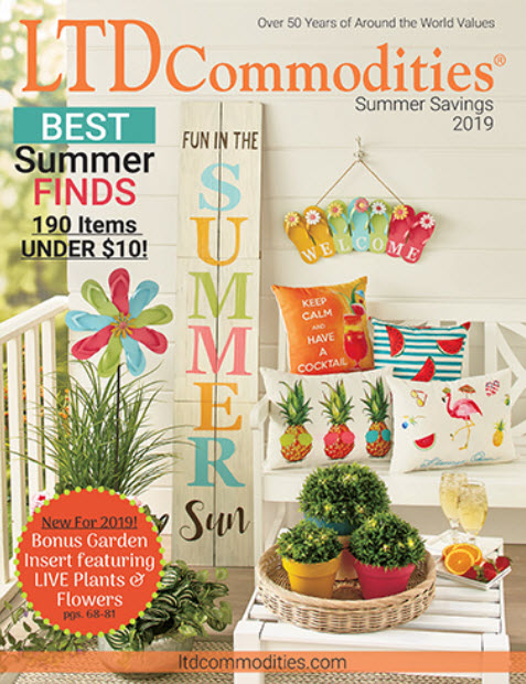 LTD Commodities Summer Catalog 2019