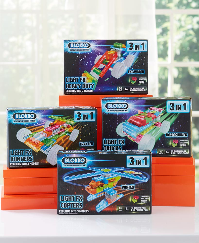 Lighted Building Block Sets