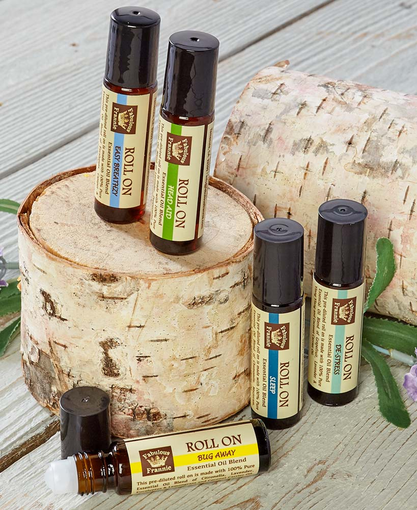 Pure Essential Oil Roll-Ons