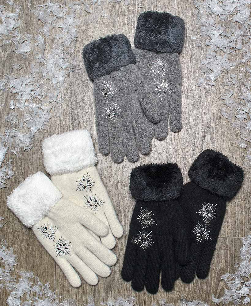 Plush Gloves