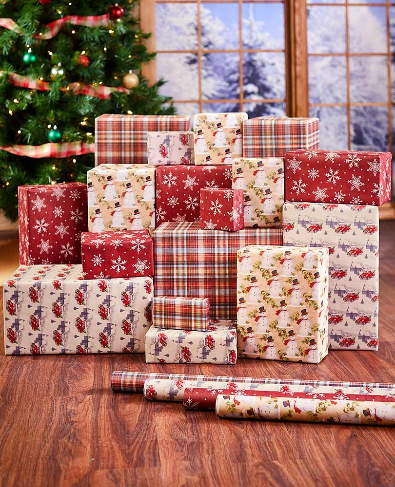 Kraft Holiday Wrapping Paper