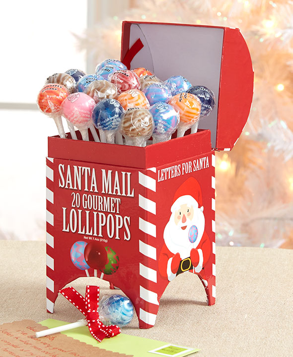 Santa Lollipops