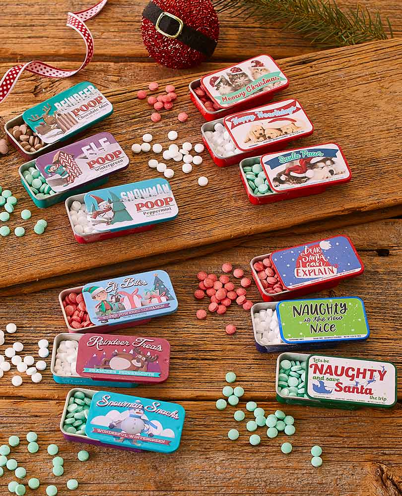 Novelty Christmas Mints