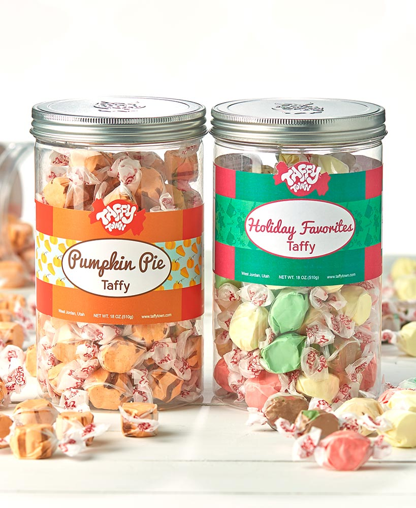 Gourmet Taffy Gift Canisters