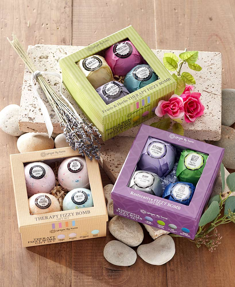 Therapeutic Bath Bomb Gift Sets
