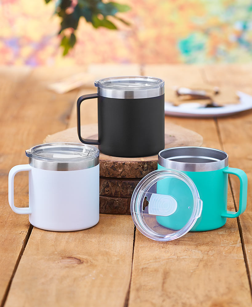 Campfire Double Wall Mugs
