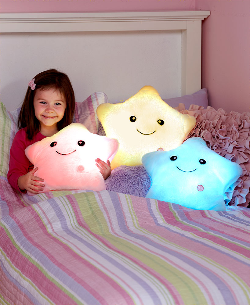 Color Changing Plush Stars