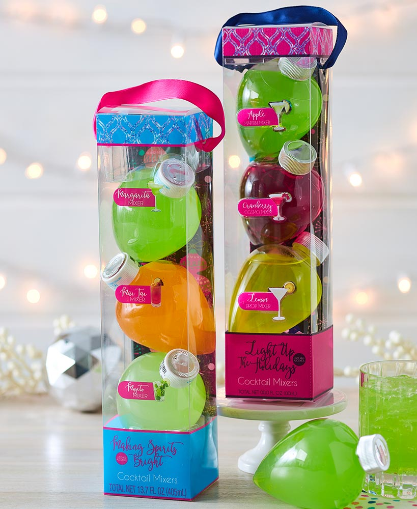 Holiday Ornament Drink Mixes