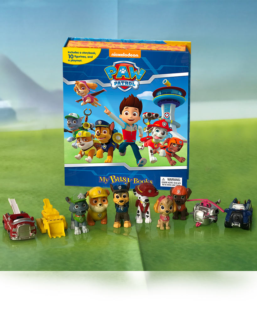 Paw Patrol Book And Figure Set