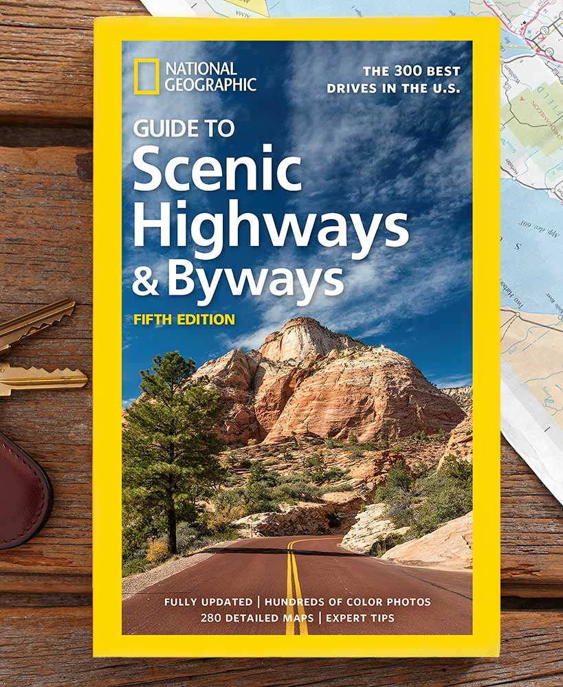 Guide To Scenic Highways And Byways Book