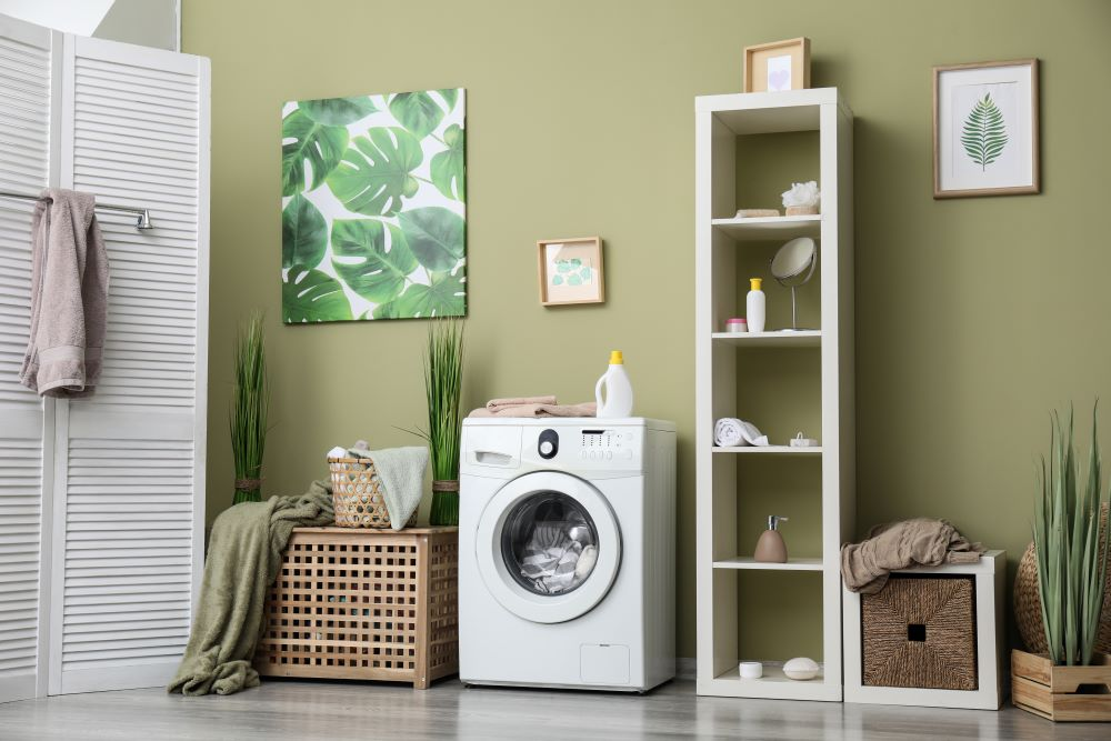 Organize A Laundry Room - Laundry Decorations