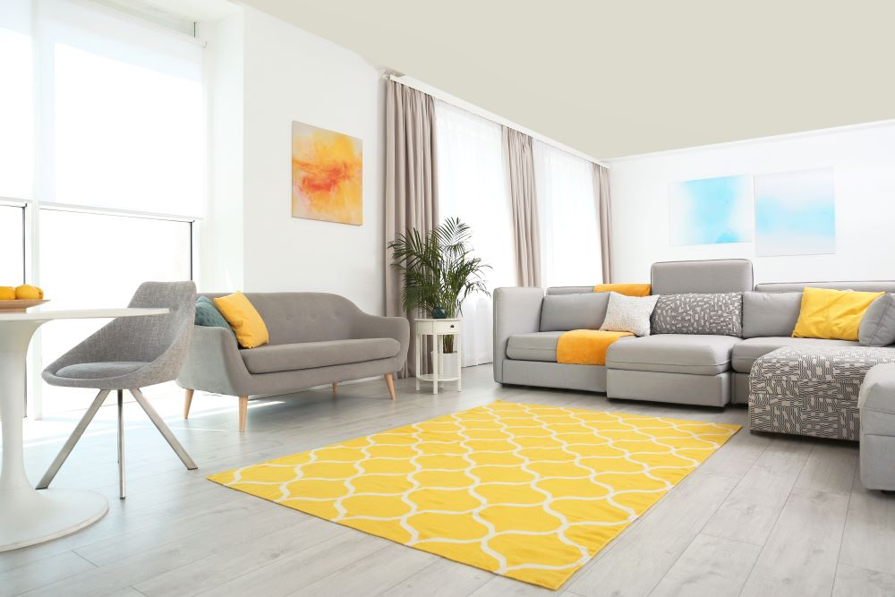 Ways To Add Color To Your Home - Bright Colored Rug