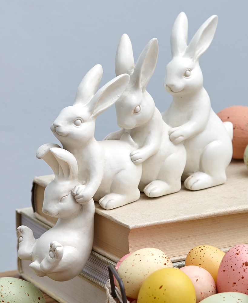Helping Hand Bunny Shelf Sitters