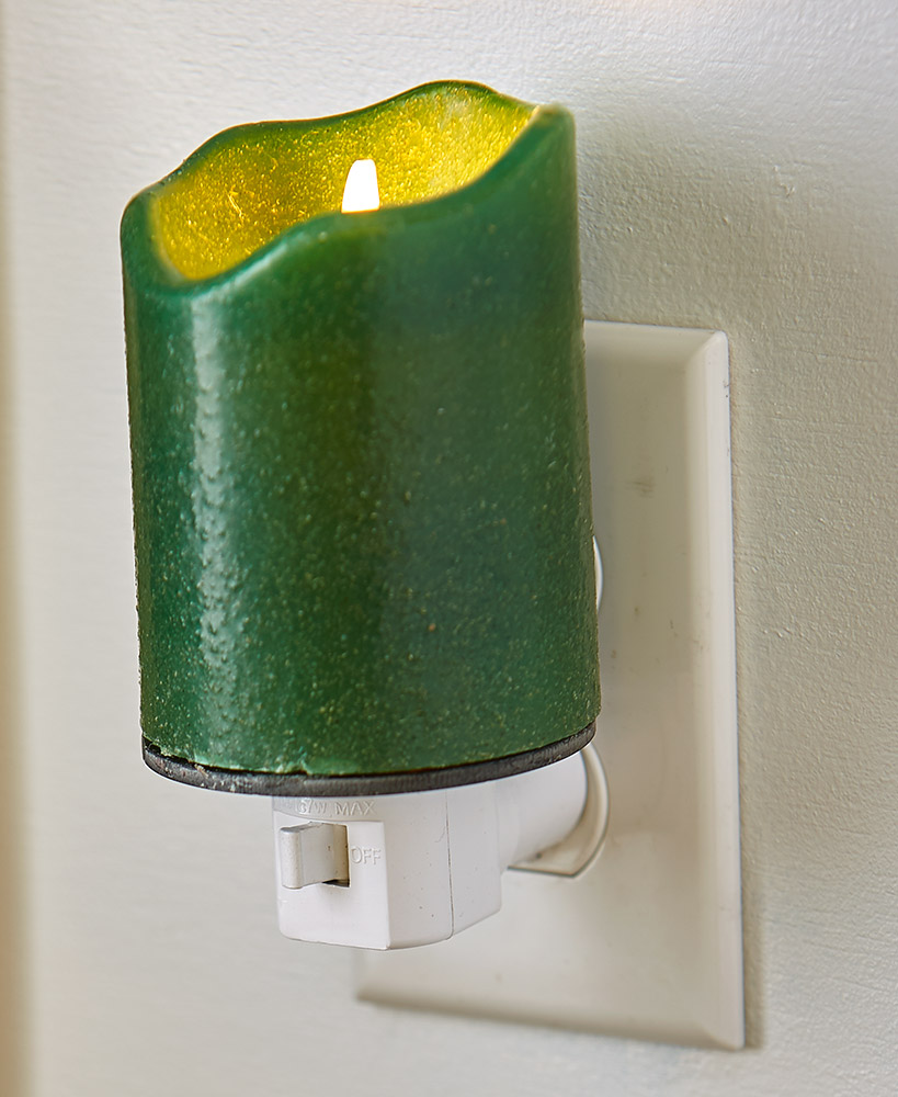 Realistic Flame Candle Nightlight