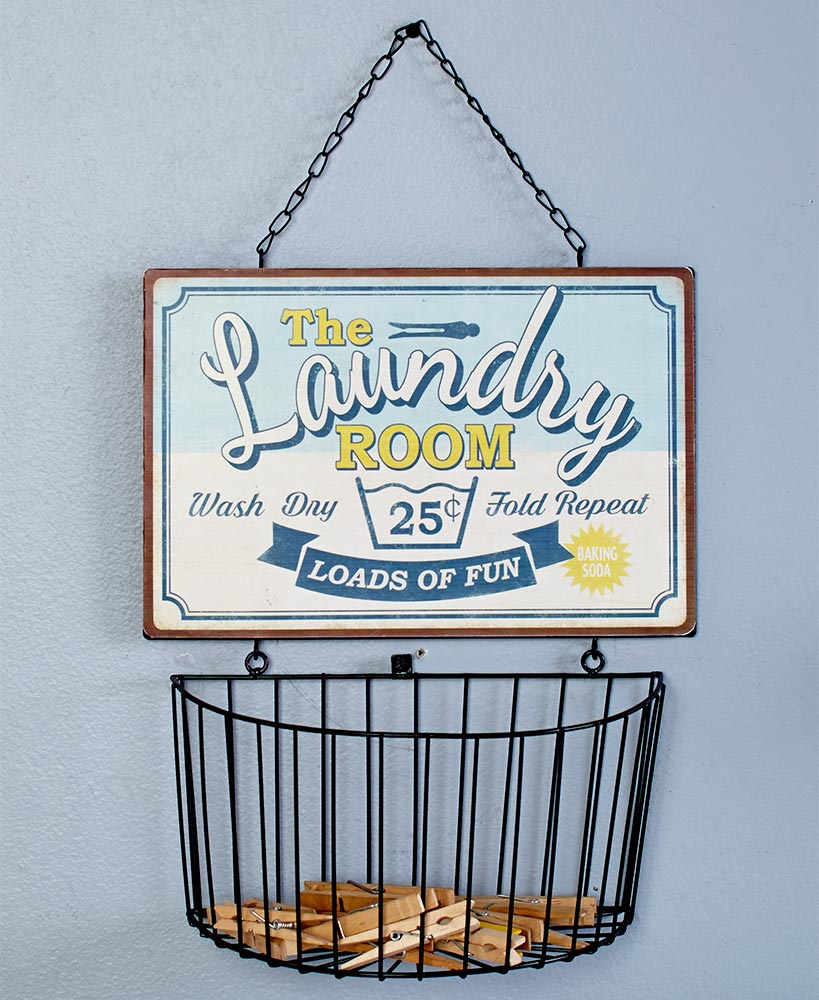 Laundry Room Wall Basket
