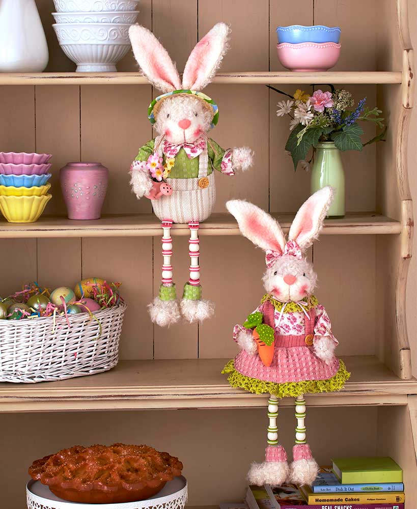 Easter Bunny Shelf Sitters