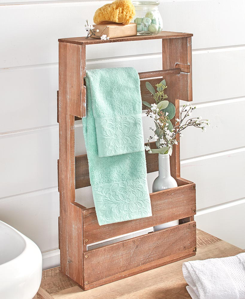 Storage Ideas For A Small Bathroom - Slim Bathroom Organizer