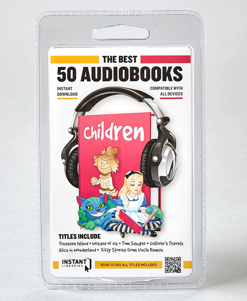 50 Kid's Instant Audiobooks