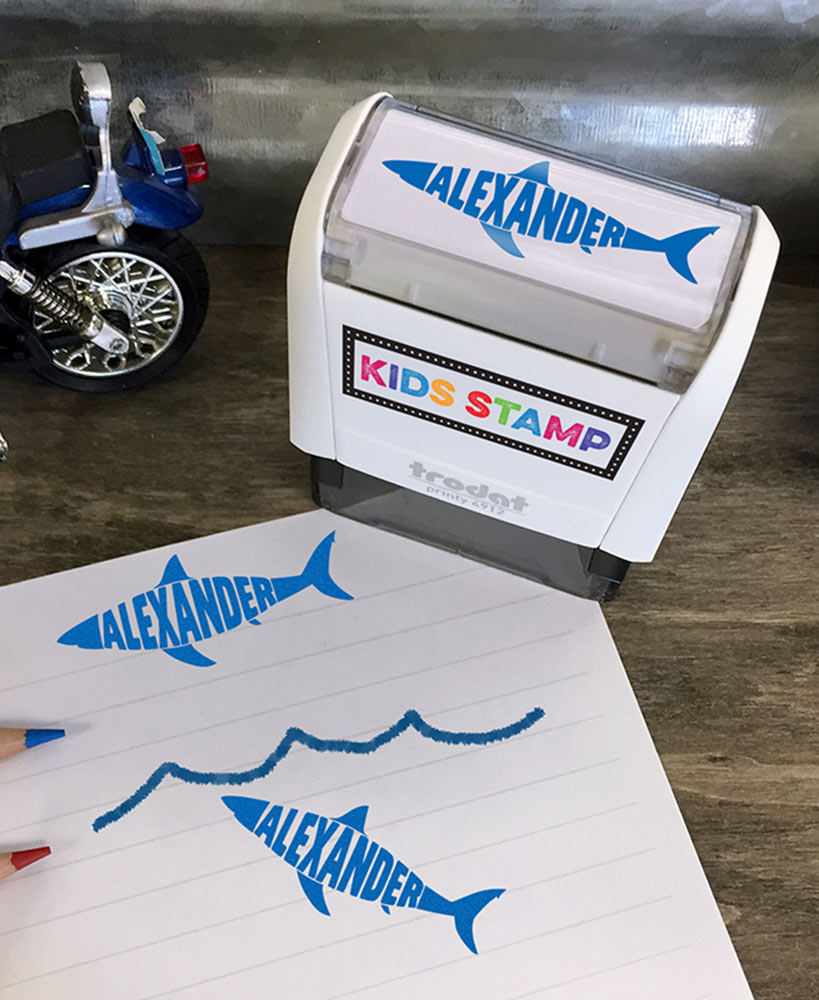 Kids' Personalized Self-Inking Stamps