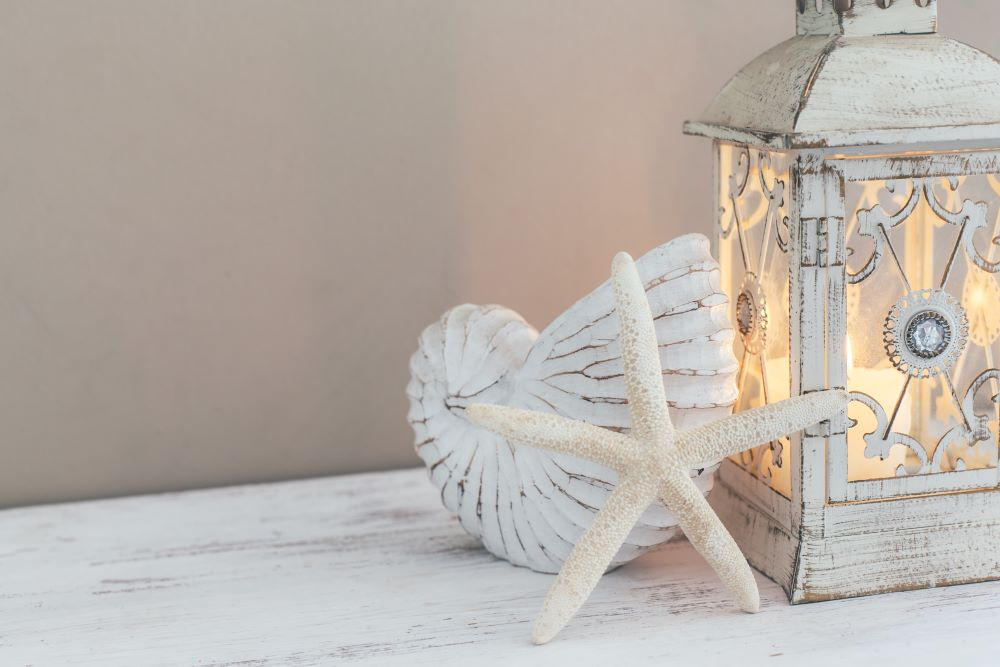 Coastal Decorating Ideas - Vintage Lanterns