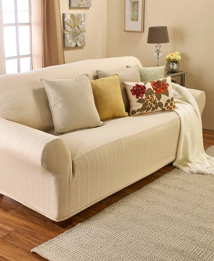Stretch Cable Sofa Slipcover