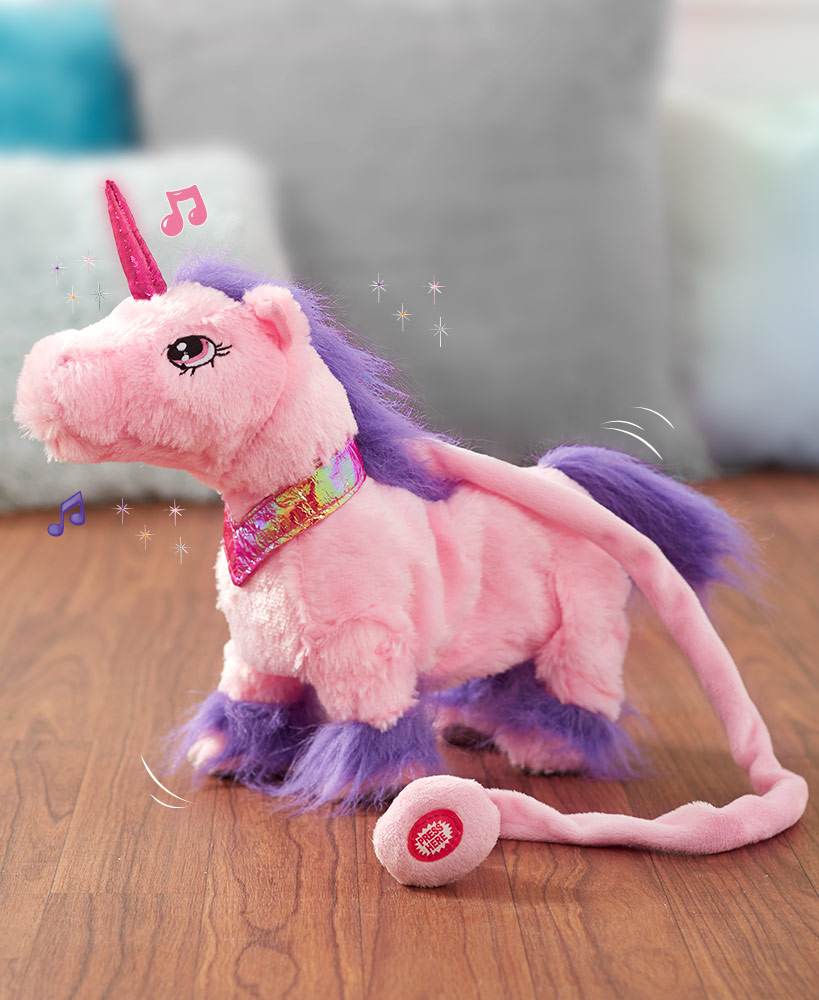 Walking Unicorn With Sound