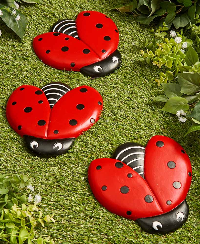 Garden Decor - Ladybug Steppingstones