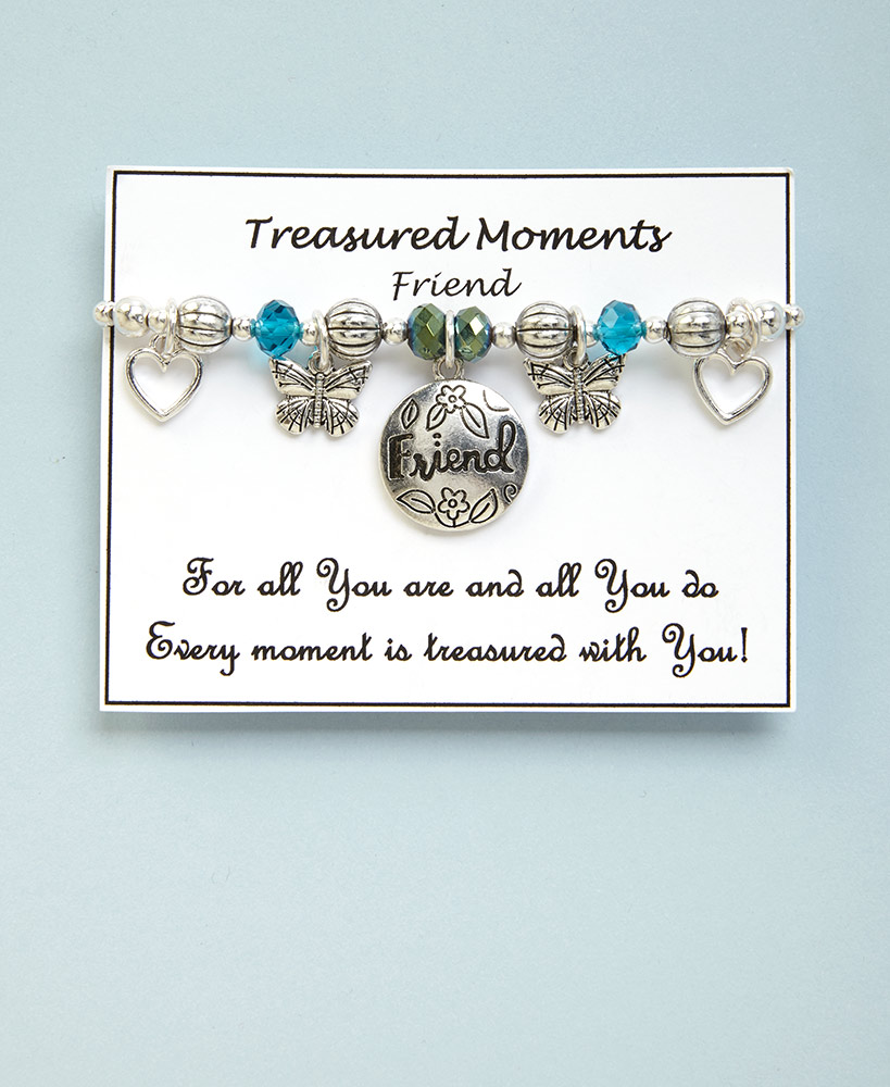 Birthday Gifts For Friends - Treasured Moments Friend Bracelet