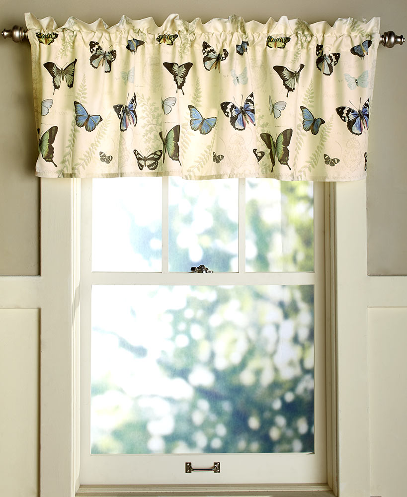 Butterfly Window Curtains