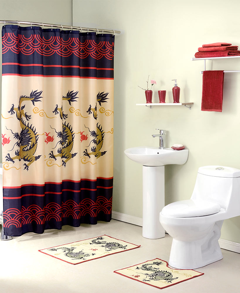 12-Pc. Dragon Complete Bathroom Value Set