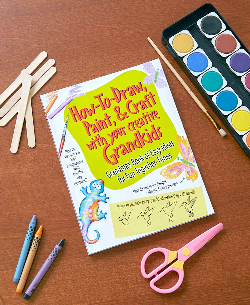 How to Craft with Grandkids Book