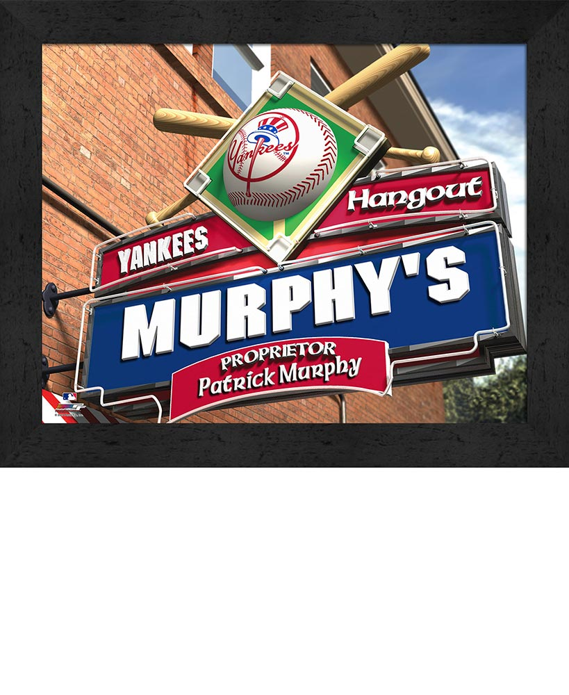 Personalized MLB™ Pub Signs