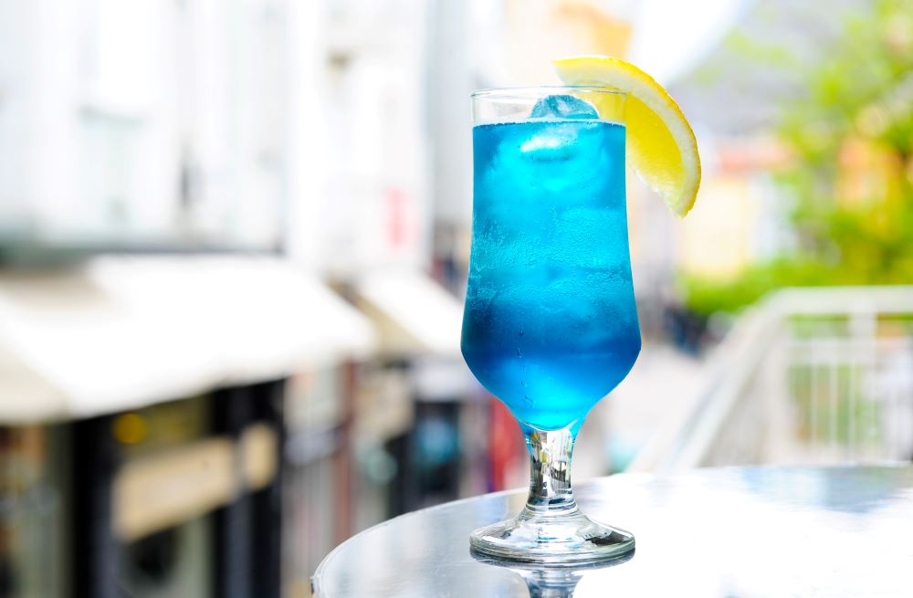 Drink Recipes For 4th of July - Blue Long Island Iced Tea